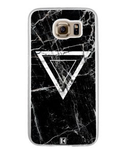 Coque Galaxy S6 – Black marble