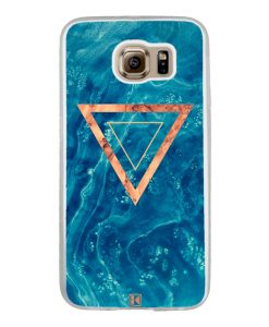 Coque Galaxy S6 – Blue rosewood