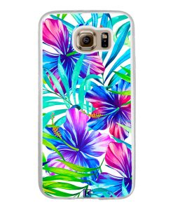 Coque Galaxy S6 – Exotic flowers