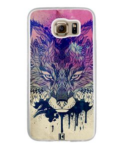Coque Galaxy S6 – Fox face