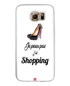 Coque Galaxy S6 – Je peux pas j'ai Shopping