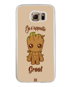 Coque Galaxy S6 – Je s'appelle Groot