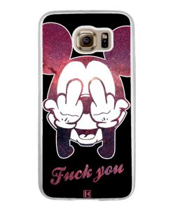 Coque Galaxy S6 – Mickey Fuck You