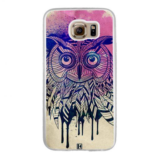 Coque Galaxy S6 – Owl face