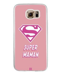 Coque Galaxy S6 – Super Maman