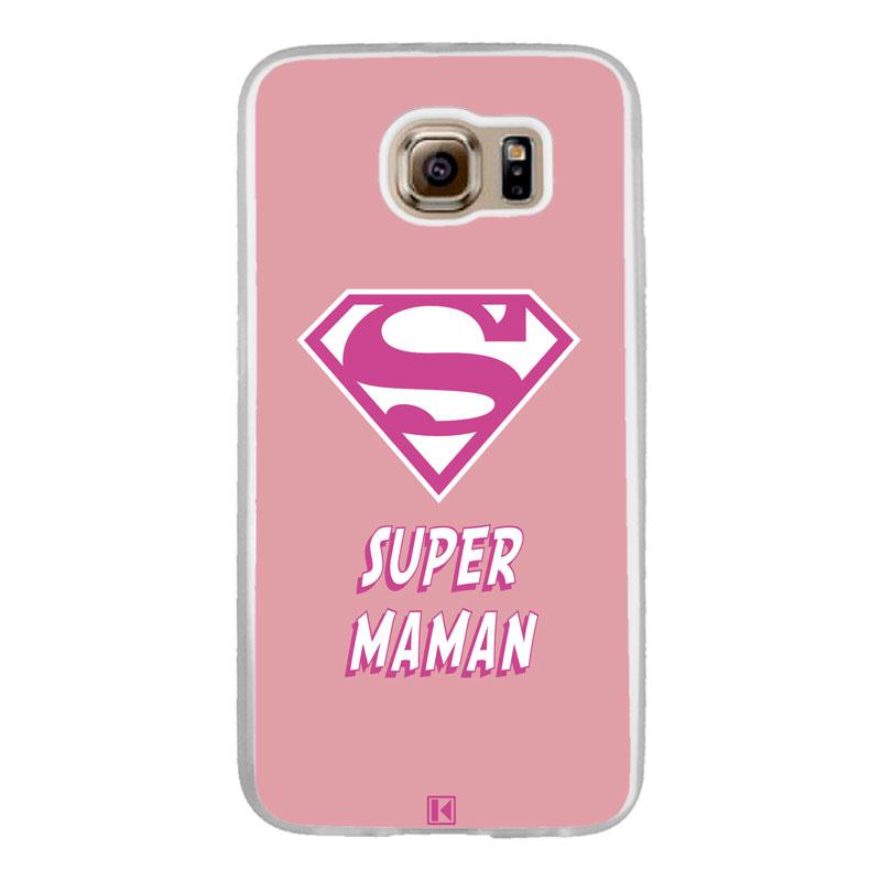 Coque Galaxy S6 – Super Maman