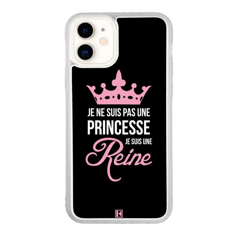 Coque iPhone 11 – Je ne suis pas une princesse
