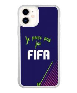Coque iPhone 11 – Je peux pas j'ai FIFA