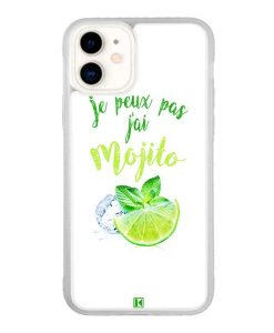 Coque iPhone 11 – Je peux pas j'ai Mojito