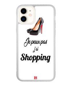 Coque iPhone 11 – Je peux pas j'ai Shopping