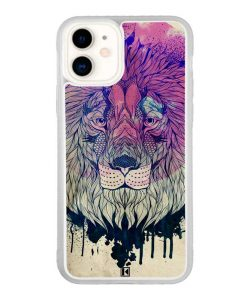 Coque iPhone 11 – Lion Face
