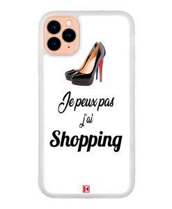 Coque iPhone 11 Pro – Je peux pas j'ai Shopping