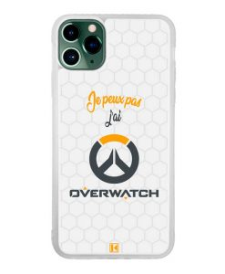 Coque iPhone 11 Pro Max – Je peux pas j'ai Overwatch
