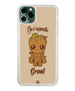 Coque iPhone 11 Pro Max – Je s'appelle Groot