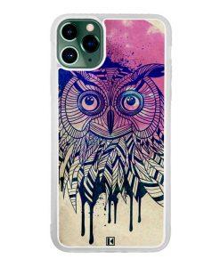 Coque iPhone 11 Pro Max – Owl face