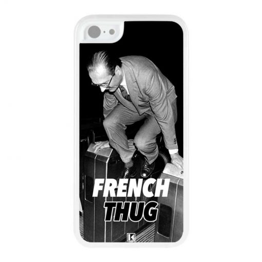 Coque iPhone 5c – Chirac French Thug