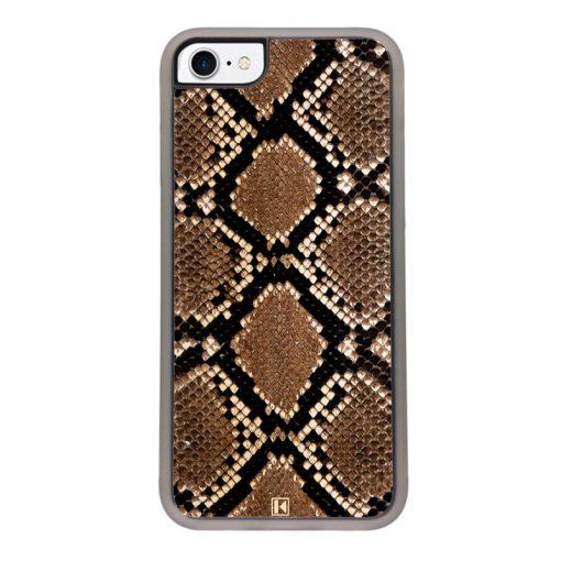 Coque iPhone 7 / 8 – Python leather