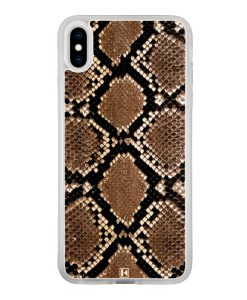 Coque iPhone Xs Max – Python leather