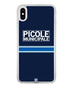 Coque iPhone Xs Max – Picole Municipale