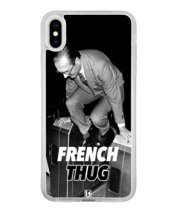 Coque iPhone Xs Max – Chirac French Thug
