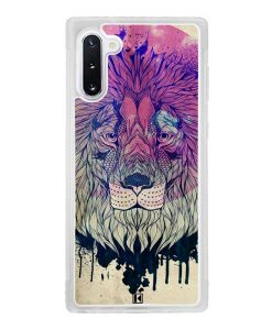 Coque Galaxy Note 10 – Lion Face