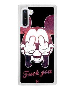 Coque Galaxy Note 10 – Mickey Fuck You