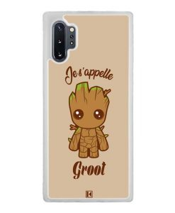 Coque Galaxy Note 10 Plus – Je s'appelle Groot