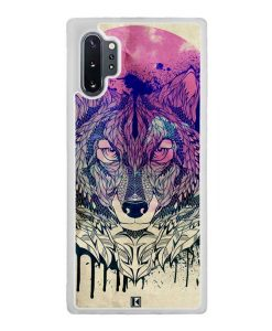 Coque Galaxy Note 10 Plus – Wolf Face