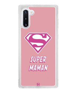 Coque Galaxy Note 10 – Super Maman