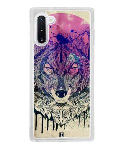 Coque Galaxy Note 10 – Wolf Face