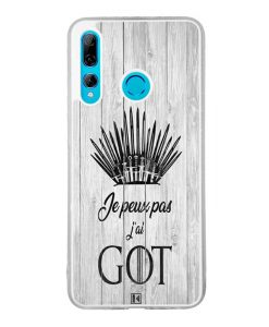 Coque Huawei P Smart Plus 2019 – Je peux pas j'ai Game of Thrones