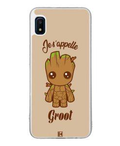 Coque Galaxy A10e – Je s'appelle Groot