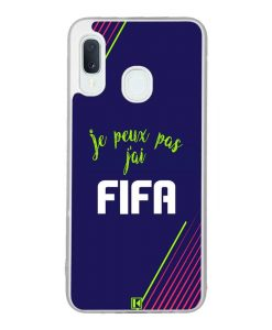 Coque Galaxy A20e – Je peux pas j'ai FIFA