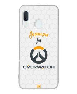 Coque Galaxy A20e – Je peux pas j'ai Overwatch