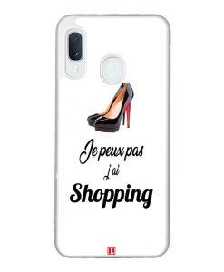 Coque Galaxy A20e – Je peux pas j'ai Shopping