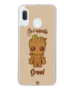 Coque Galaxy A20e – Je s'appelle Groot