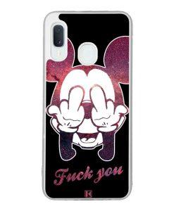 Coque Galaxy A20e – Mickey Fuck You