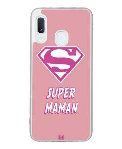 Coque Galaxy A20e – Super Maman