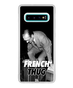 Coque Galaxy S10 Plus – Chirac French Thug