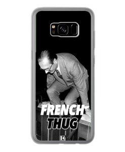 Coque Galaxy S8 Plus – Chirac French Thug