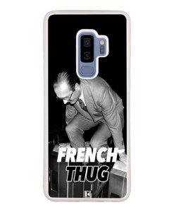 Coque Galaxy S9 Plus – Chirac French Thug