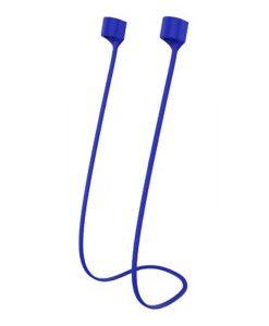 theklips-cordon-silicone-magnetique-pour-airpods-bleu