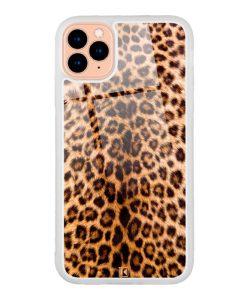 theklips-coque-iphone-11-pro-leopard-leather-en-verre-trempe