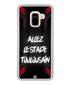 Coque Galaxy A8 2018 – Allez le Stade Toulousain