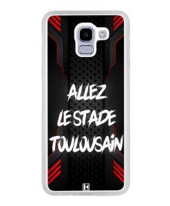 Coque Galaxy J6 2018 – Allez le Stade Toulousain