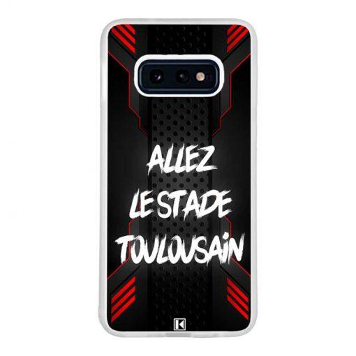 Coque Galaxy S10e – Allez le Stade Toulousain