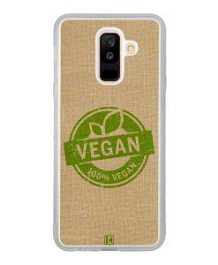 Coque Galaxy A6 Plus – 100% Vegan