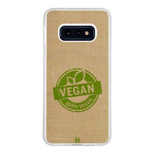 Coque Galaxy S10e –100% Vegan
