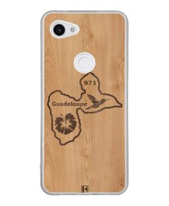 Coque Google Pixel 3A – Guadeloupe 971