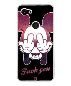 Coque Google Pixel 3A XL – Mickey Fuck You
